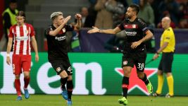 Bellarabi gives Bayer hope in Champions League
