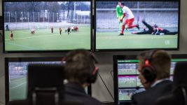 Video assistant referee trials