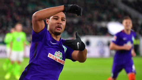 Gnabry at the double as Bremen beat Wolfsburg
