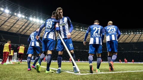 Watch: Hertha 2-0 Frankfurt - highlights