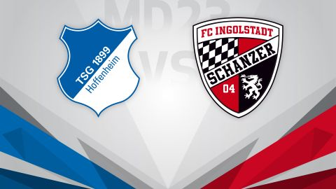 European hopefuls Hoffenheim host Ingolstadt