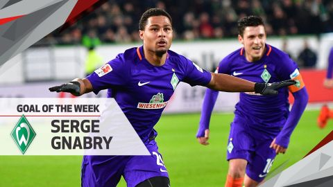 Watch: Gnabry's MD22 Goal of the Week!
