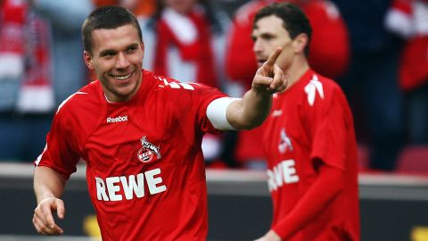 Watch: Podolski's top 5 Bundesliga goals