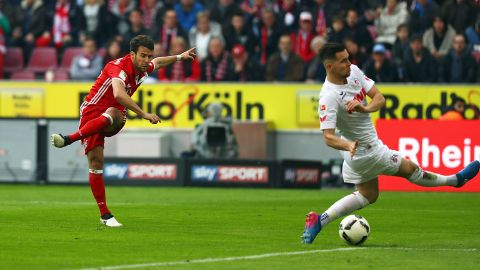 Watch: Cologne 0-3 Bayern - highlights