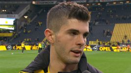 Watch: Pulisic: 'Incredible feeling'