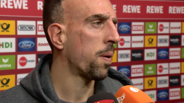 Watch: Ribery delighted with Bayern Munich form