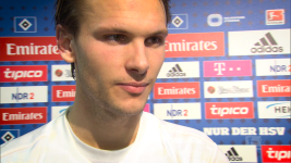 Watch: Ekdal: 'Today it was my turn'