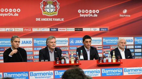 Korkut takes over at Leverkusen