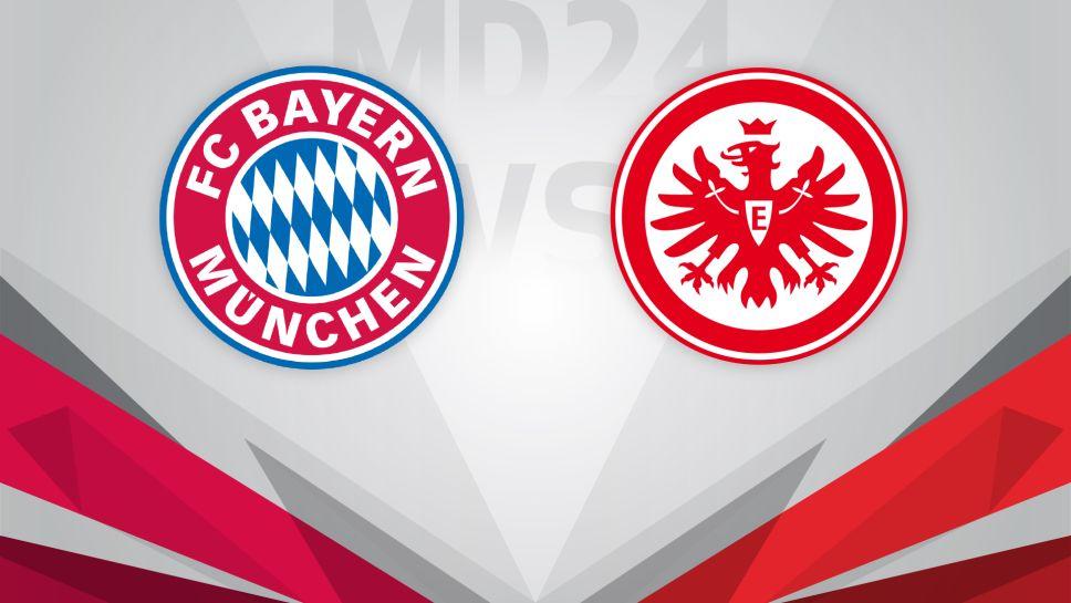 Bundesliga Bayern Munich V Eintracht Frankfurt Matchday 24 Match Preview