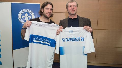 Darmstadt unveil one-off kit