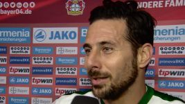 Watch: Pizarro: 'Very happy with my goal'