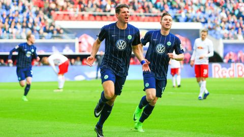 Gomez goal seals Wolfsburg win over Leizpig