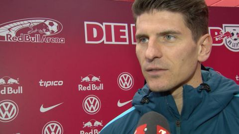 Watch: Gomez: 'Wolfsburg really brave'