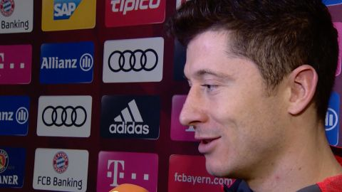 Watch: Lewandowski: 'I could've scored more!'