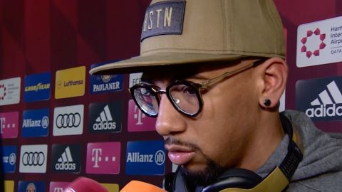 Watch: Boateng: 'Extraordinary moment'
