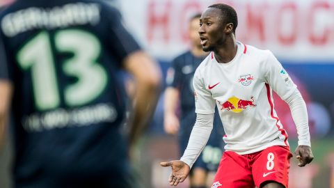 Leipzig's Naby Keita discharged from hospital