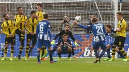 Watch: Hertha 2-1 Dortmund - highlights