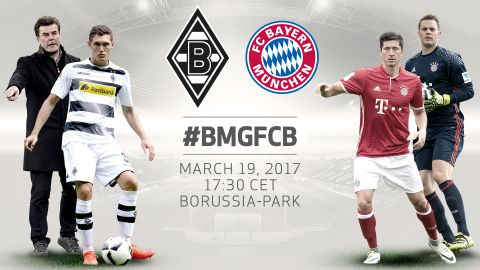 Gladbach vs. Bayern: Pre-match stat-attack