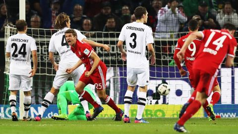 Watch: Gladbach 0-1 Bayern - highlights