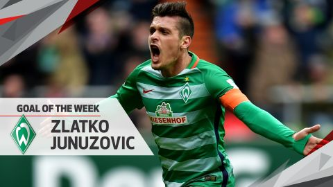 Bundesliga Goal of the Week: Matchday 25
