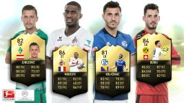 Bundesliga quartet in FIFA 17 Team of the Week