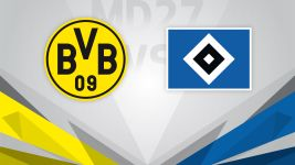 Top-three hopefuls Dortmund host improving Hamburg