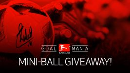 Goalmania: win a signed Torfabrik mini-ball!