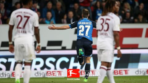 Hoffenheim clinch historic win