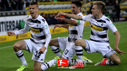 Benes strike takes Gladbach past Hertha Berlin