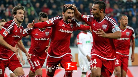 Ingolstadt hold on for vital win at  Augsburg