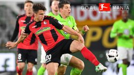 Watch: Wolfsburg 0-1 Freiburg - highlights