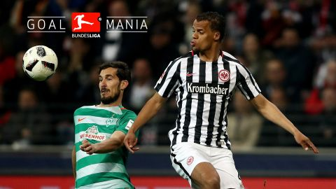 Watch: Frankfurt 2-2 Bremen - highlights