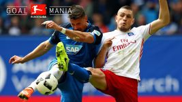Watch: Hamburg 2-1 Hoffenheim - highlights