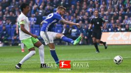 Schalke push on with fine win over Wolfsburg