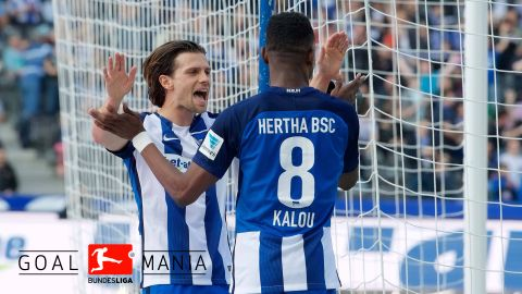 Impressive Hertha too much for struggling Augsburg