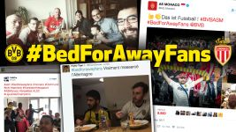 Dortmund #BedforAwayFans receives FIFA nomination