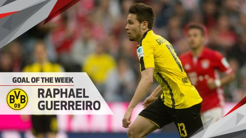 Watch: Guerreiro stunner wins Goal of the Week