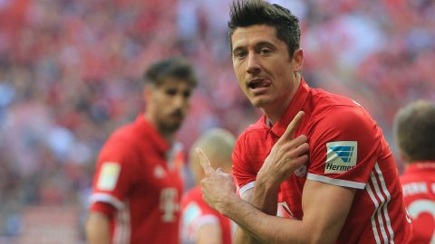 Watch: Lewandowski: Bayern's not-so-secret weapon