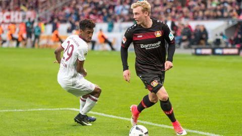 Brandt keen for Leverkusen to turn the corner