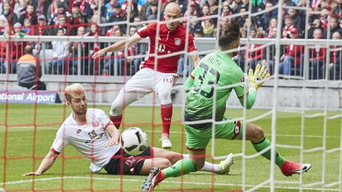 Bayern held by spirited Mainz