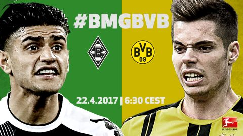 Watch: Dahoud vs. Weigl