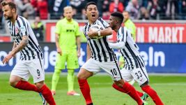 Watch: Frankfurt 3-1 Augsburg - highlights
