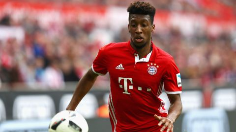 Bayern make Coman move permanent