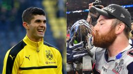 BVB's Pulisic promises shirt swap with NFL star