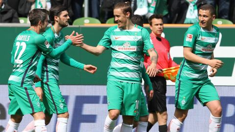 Bremen close in on Europe with Hertha win