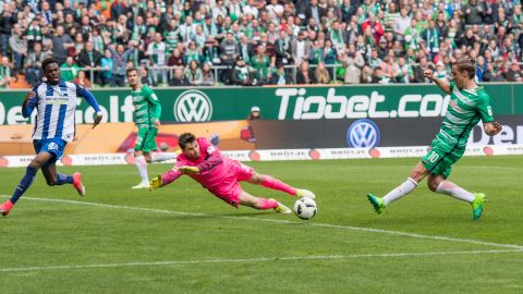 Watch: Bremen 2-0 Hertha - highlights