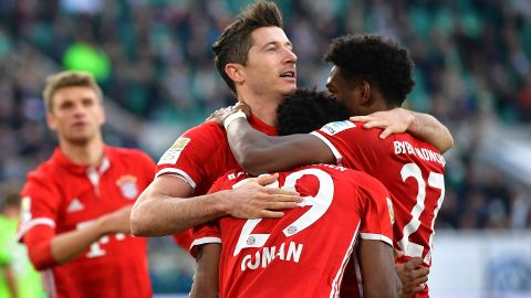 Bayern crowned champions with Wolfsburg win