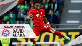 Alaba wins MD31 Goal of the Week