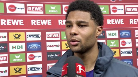 "Watch: Gnabry: ""Disappointed not to get a point"""