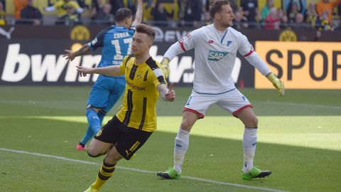 Dortmund go third with Hoffenheim win